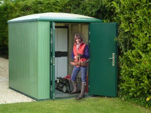 Brodco  secure garden shed